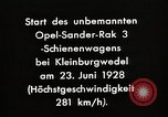 Image of Rocketry Germany, 1928, second 6 stock footage video 65675024377