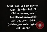 Image of Rocketry Germany, 1928, second 7 stock footage video 65675024377