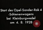 Image of Rocketry Germany, 1928, second 4 stock footage video 65675024378