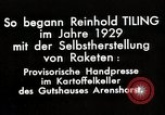 Image of Reinhard Tiling Arenshorst Germany, 1929, second 7 stock footage video 65675024385