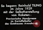 Image of Reinhard Tiling Arenshorst Germany, 1929, second 11 stock footage video 65675024385