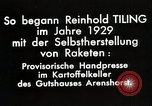 Image of Reinhard Tiling Arenshorst Germany, 1929, second 12 stock footage video 65675024385