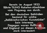 Image of Rocketry Germany, 1933, second 2 stock footage video 65675024392