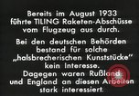 Image of Rocketry Germany, 1933, second 3 stock footage video 65675024392