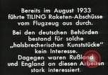 Image of Rocketry Germany, 1933, second 7 stock footage video 65675024392