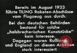 Image of Rocketry Germany, 1933, second 9 stock footage video 65675024392