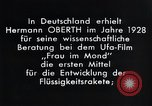 Image of Film Frau im Mond Germany, 1928, second 3 stock footage video 65675024397