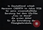 Image of Film Frau im Mond Germany, 1928, second 5 stock footage video 65675024397