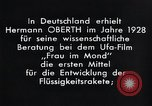 Image of Film Frau im Mond Germany, 1928, second 9 stock footage video 65675024397