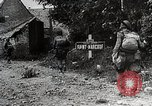 Image of Allies advance after D-Day invasion Normandy France, 1944, second 5 stock footage video 65675024432