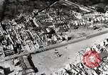 Image of Allies take major port city after D-Day in World War II Cherbourg France, 1944, second 10 stock footage video 65675024433