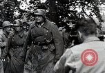 Image of Allies engaging Germans in hedgerows of Normandy Normandy France, 1944, second 2 stock footage video 65675024434