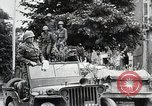 Image of U.S. Third Army driving through France in World War 2 France, 1944, second 4 stock footage video 65675024436