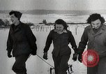 Image of US 26th Yankee Infantry Division celebrates Thanksgiving France, 1944, second 2 stock footage video 65675024443