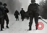 Image of American Troops use mine detectors in snow Germany, 1944, second 5 stock footage video 65675024444