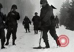 Image of American Troops use mine detectors in snow Germany, 1944, second 6 stock footage video 65675024444