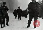 Image of American Troops use mine detectors in snow Germany, 1944, second 8 stock footage video 65675024444