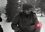Image of American Troops use mine detectors in snow Germany, 1944, second 12 stock footage video 65675024444