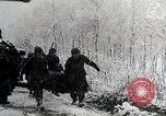 Image of US troops struggle through winter campaign in Germany Germany, 1944, second 1 stock footage video 65675024446