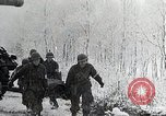 Image of US troops struggle through winter campaign in Germany Germany, 1944, second 2 stock footage video 65675024446