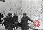 Image of US troops struggle through winter campaign in Germany Germany, 1944, second 3 stock footage video 65675024446