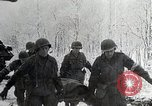 Image of US troops struggle through winter campaign in Germany Germany, 1944, second 4 stock footage video 65675024446