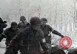 Image of US troops struggle through winter campaign in Germany Germany, 1944, second 5 stock footage video 65675024446