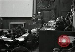 Image of War Trials Nuremberg Germany, 1946, second 3 stock footage video 65675024455