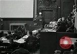 Image of War Trials Nuremberg Germany, 1946, second 5 stock footage video 65675024455