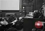 Image of War Trials Nuremberg Germany, 1946, second 8 stock footage video 65675024455
