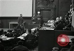 Image of War Trials Nuremberg Germany, 1946, second 12 stock footage video 65675024455