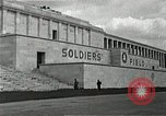 Image of War Trials Nuremberg Germany, 1945, second 4 stock footage video 65675024456