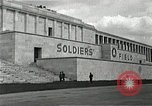 Image of War Trials Nuremberg Germany, 1945, second 5 stock footage video 65675024456