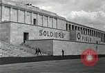 Image of War Trials Nuremberg Germany, 1945, second 6 stock footage video 65675024456