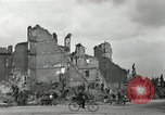 Image of World War 2 destruction in Nuremberg Germany Nuremberg Germany, 1945, second 4 stock footage video 65675024457