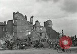 Image of World War 2 destruction in Nuremberg Germany Nuremberg Germany, 1945, second 5 stock footage video 65675024457