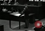 Image of War Trials Nuremberg Germany, 1945, second 6 stock footage video 65675024462