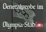 Image of Preparations for XI Olympiad Berlin Germany, 1936, second 3 stock footage video 65675024477