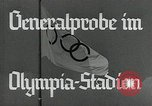 Image of Preparations for XI Olympiad Berlin Germany, 1936, second 5 stock footage video 65675024477
