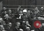 Image of Hermann Goering Nuremberg Germany, 1945, second 6 stock footage video 65675024489