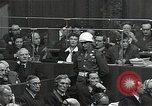 Image of Hermann Goering Nuremberg Germany, 1945, second 12 stock footage video 65675024489