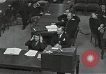 Image of Chief Prosecutor Jackson Nuremberg Germany, 1946, second 4 stock footage video 65675024491