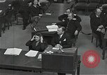 Image of Chief Prosecutor Jackson Nuremberg Germany, 1946, second 6 stock footage video 65675024491
