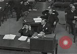 Image of Chief Prosecutor Jackson Nuremberg Germany, 1946, second 8 stock footage video 65675024491