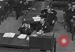 Image of Chief Prosecutor Jackson Nuremberg Germany, 1946, second 10 stock footage video 65675024491