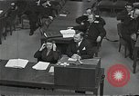 Image of Chief Prosecutor Jackson Nuremberg Germany, 1946, second 12 stock footage video 65675024491