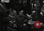 Image of Hartley Shawcross Nuremberg Germany, 1946, second 6 stock footage video 65675024492