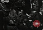 Image of Hartley Shawcross Nuremberg Germany, 1946, second 8 stock footage video 65675024492