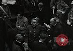 Image of Hartley Shawcross Nuremberg Germany, 1946, second 10 stock footage video 65675024492