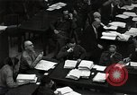 Image of Hartley Shawcross Nuremberg Germany, 1946, second 7 stock footage video 65675024493